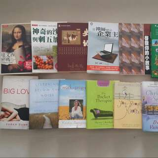 Books to be donated