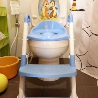 Potty Trainer With Steps