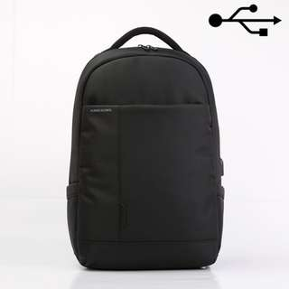 "KINGSONS 15.6"" black laptop backpack (Model : K9007W)"