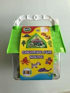 Plasticine Creative Fun House