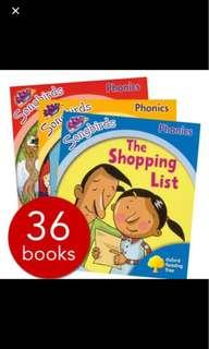 Julia Donaldson Songbirds Phonics 36 books
