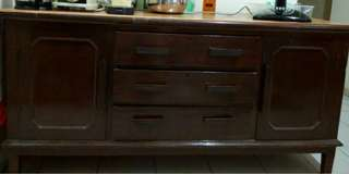 Antique Solid Wood side board console drawers