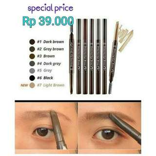 eyebrow pencil etude house