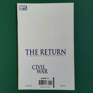 Civil War- The Return No.1 comic
