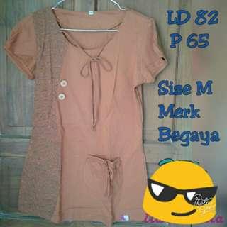 Kaos Begaya Orange