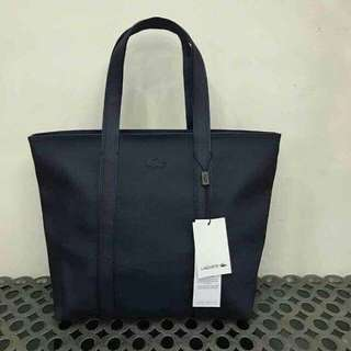 Lacoste Tote Bag size medium high quality replica with paperbag