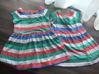 Gap twins dresses