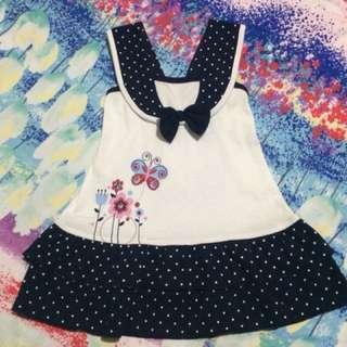 Bambini Dress Navy Blue (Small)