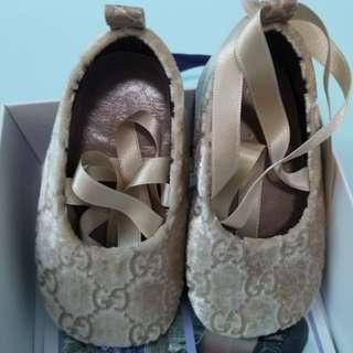 Gucci Baby Girl Ballerina Shoes