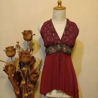 Merah maroon elegant