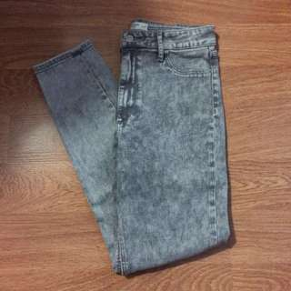 Abercrombie & Fitch Grey Jeans - Size 27