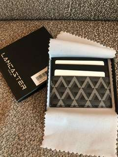 Brand new and authentic Lancaster Paris card holder