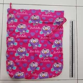 Hootabelle drawstring bag