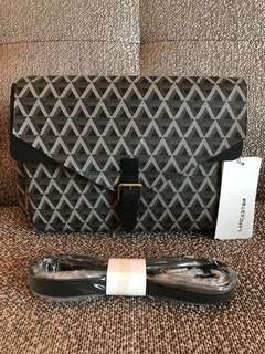 Brand new and authentic Lancaster Paris sling bag