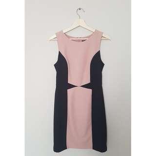 Pink & Black Panel Tokito Dress *Size 10*