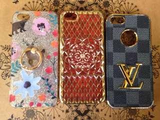IPHONE 5/5s CASES(set)