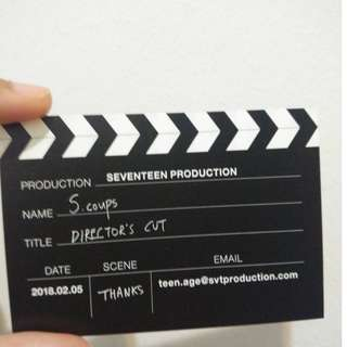 Director's Cut S.Coups Business card