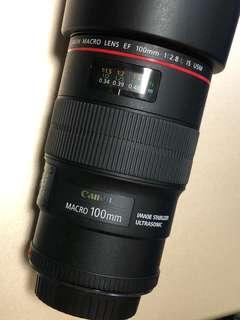 Canon Lens EF100 2.8L IS USM