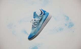 e9896314b8d69  Adidas x Pharrell Williams Tennis HU Holi Adicolor - Blue  DA9618