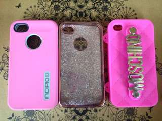 Iphone 4/4s cases(set)