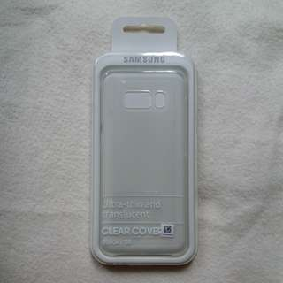 Samsung S8 clear cover