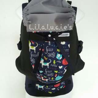 Baby Carrier SSC Lilalucie Babywearing