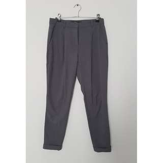 Grey Sportsgirl Cigarette Pants *Size 8*