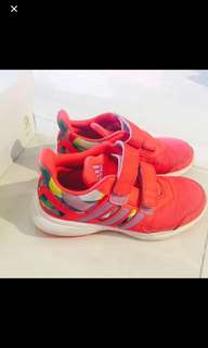 Girls Adidas sports shoes