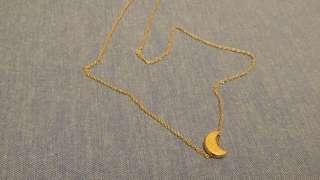 Necklace moon bird hill mountain emoji $8each
