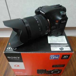 【出售】SONY SLT-A65 數位單眼相機 公司貨 盒裝完整