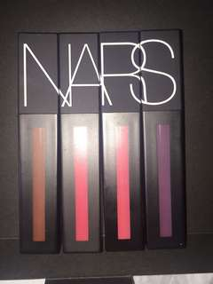 NARS Power Matte 4x Liquid Lipstick + FREE LIP LINER