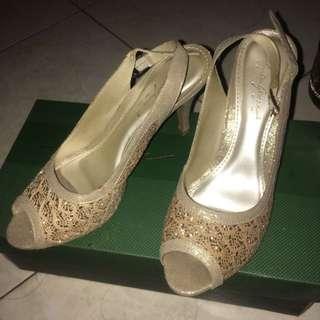 Apple Green Heels Priya