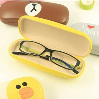 Korean Student Cartoon Glasses Case