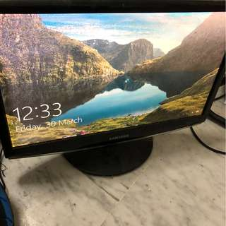 Samsung 22' monitor Model 2233SW
