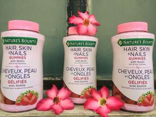 Nature's Bounty Hair, Skin and Nails Gummies with Biotin