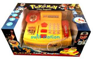 POKEMON SUPERMARKET CASH REGISTER TOYS