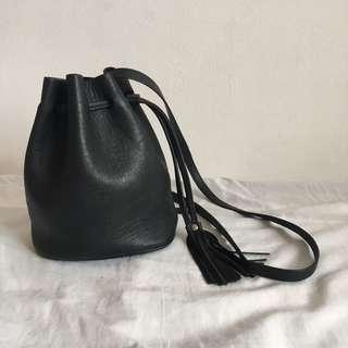 H&M Black Bucket Bag