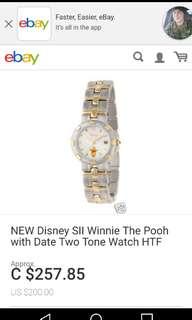 Vintage Disney Winnie the Pooh Watch