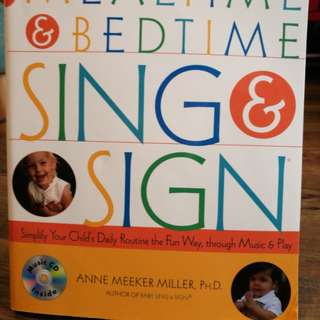 Mealtime and Bedtime Sign and Sign