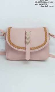 Sling bag size : 6*8 inches