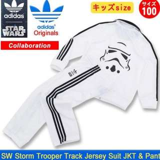 Authentic Adidas Original tracksuit for toddler between 12-18mths.