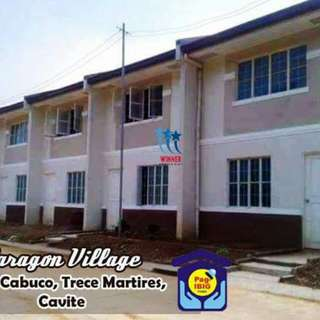 🏡 PARAGON VILLAGE 🏁 Brgy. Cabuco Trece Martirez,Cavite Developer: New Apec  BUDGET: P5,800 +++ monthly thru PAGIBIG at 30 yrs to pay  Paragon Village is strategically located in Along Governors Drive Brgy. San Agustin/ Brgy. Cabuco Trece Martires.