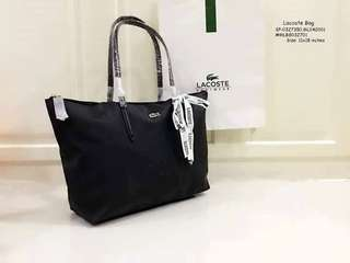 Lacoste bag size : 11*18 inches