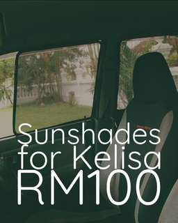 Sunshades for kelisa