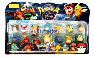 POKEMON go TOY FIGURES CAKE TOPPER