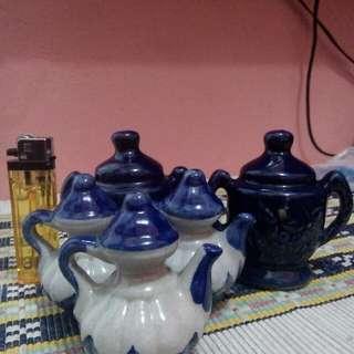 Paket 5 pcs Pajangan keramik lucu