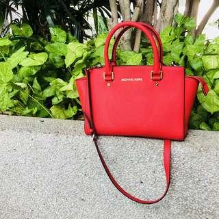 Michael Kors Selma Large Satchel Handbag