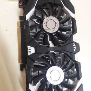 Msi gtx 1050 ti 4GB ddr5
