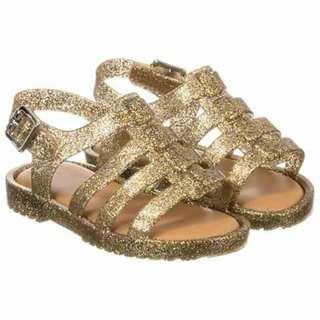 Mini Melissa Glitter Gold