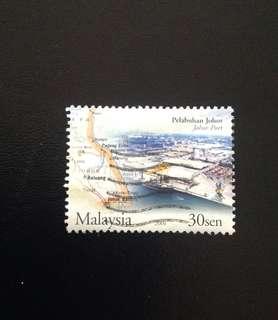 Malaysia 2004 Port of Johore 1V Used (0375)